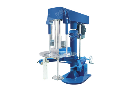 Co-axial Dual-shaft Hydraulic Lifting High Speed Disperser