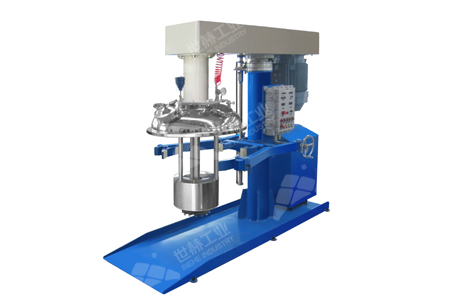 Closed type Basket Mill (Hydraulic Lifting) working principle