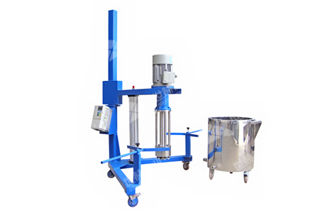 Basket Mill (Pneumatic Lifting)working principle