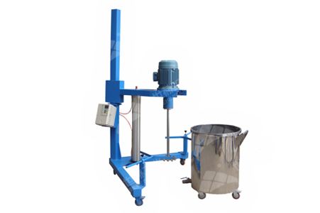 High-speed Disperser (Pneumatic Lifting) working principle