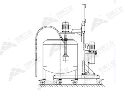 Batch Type Solid-liquid Mixing Emulsifier typical case