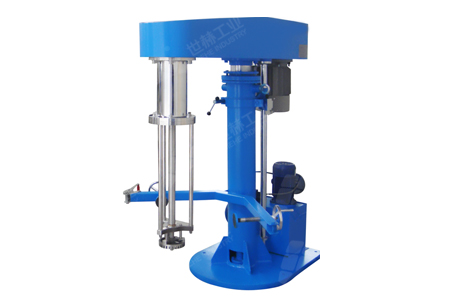 High-shear Emulsifier(Hydraulic Lifting) workig principle