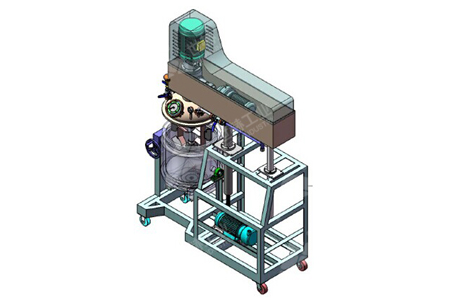 High-Shear Emulsifier (Vacuum type) working principle