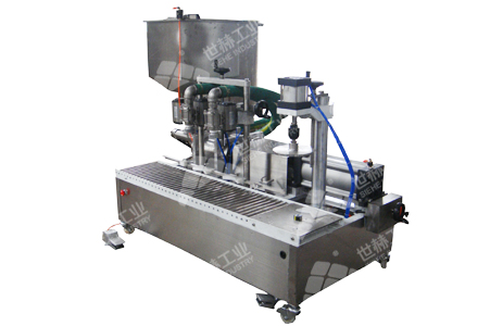 Semi-automatic Filling Machine (Volume Type) typical case