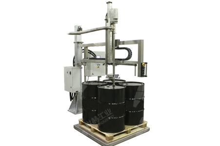 Automatic Filling Machine (Big Drum) working principle