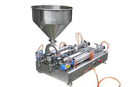 Small Batch Paste&Liquid Filling Machine (Volume type) working principle