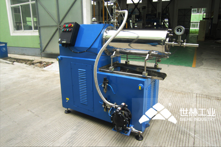 Horizontal beads mill (disc type) typical case