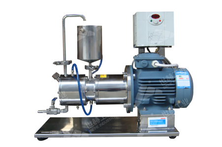 Lab Horizontal Beads Mill-A working principle