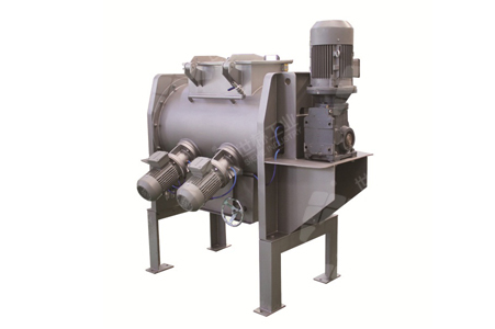 Horizontal Plough Mixer typical case