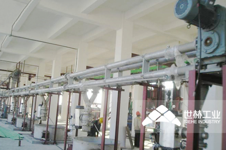 Pipe Chain Conveyor typical case
