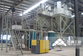 Pneumatic conveying system picture
