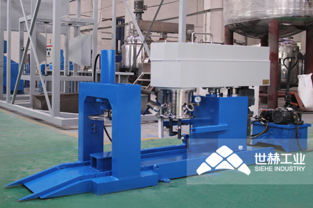 Adhesive Complete Production Line typical case