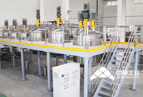 Water-based Paint Complete Production Line picture