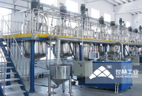 Solvent-based Paint Production Line