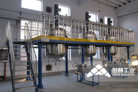 Pesticide Complete Production Line working principle