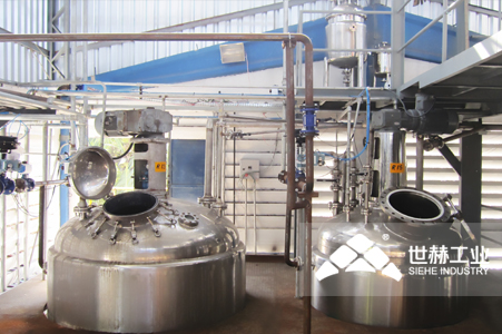 Pesticide Complete Production Line typical case