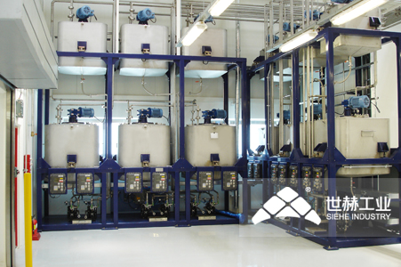 Liquid Storage and Automatic Batching System typical case