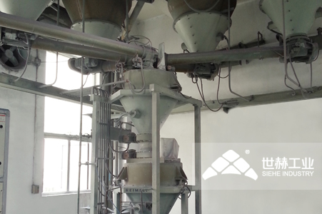 Powder Storage and Automatic Batching System