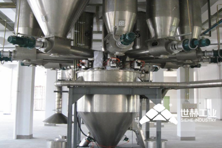 Powder Storage and Automatic Batching System typical case