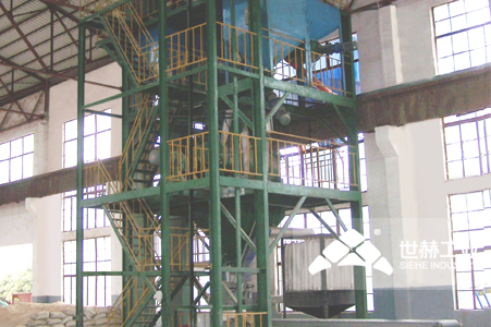 Dry-mixed Mortar Production Line working principle