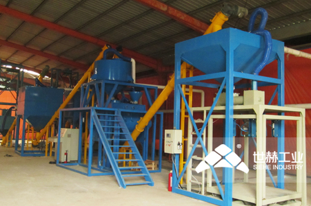 Dry-mixed Mortar Production Line typical case