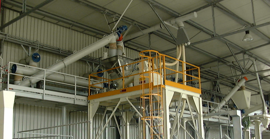 Gypsum Powder Complete Production Line working principle