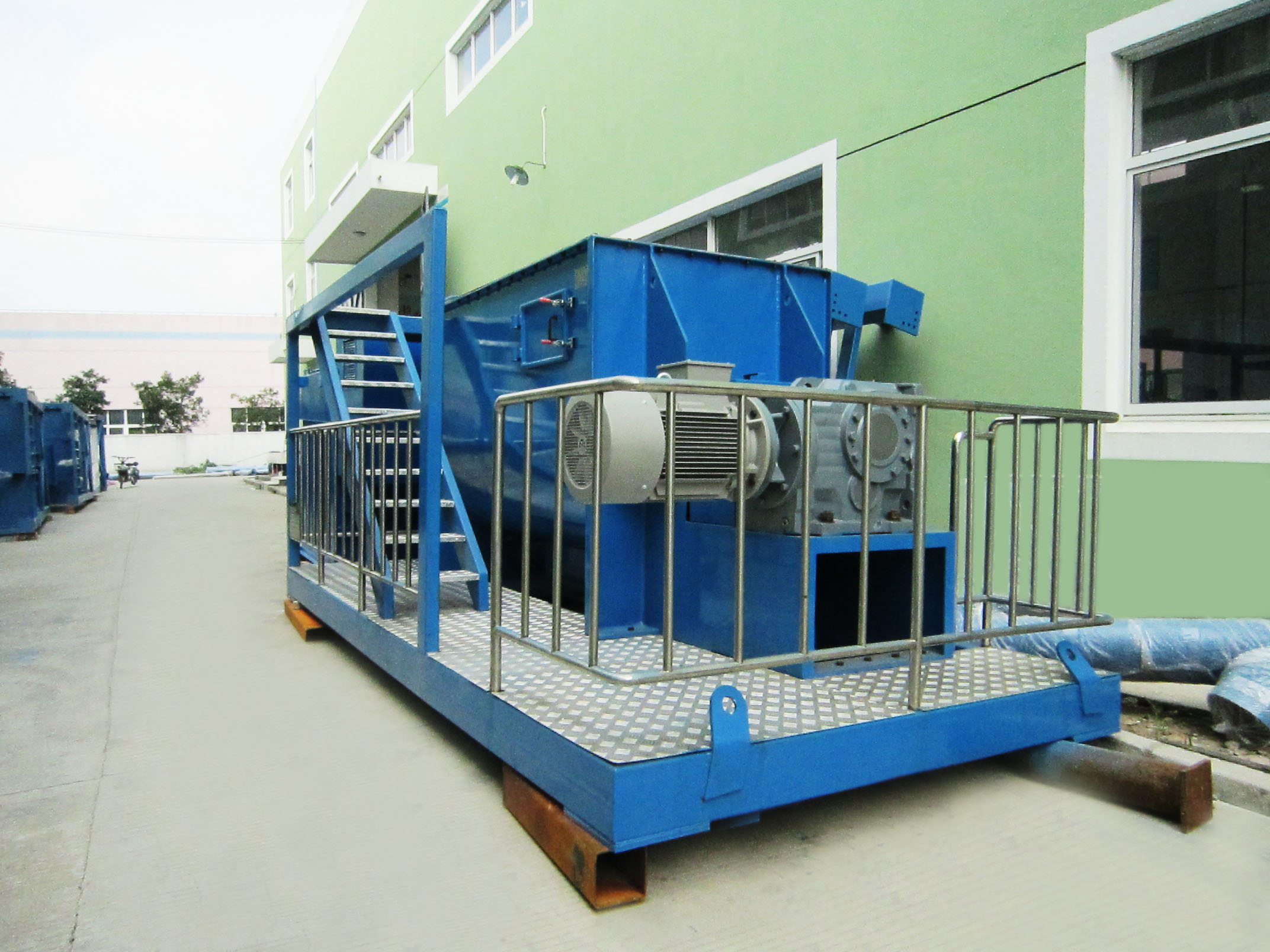 Gypsum Powder Complete Production Line typical case