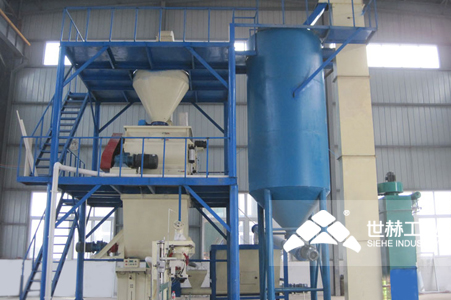Putty Powder Complete Production Line working principle