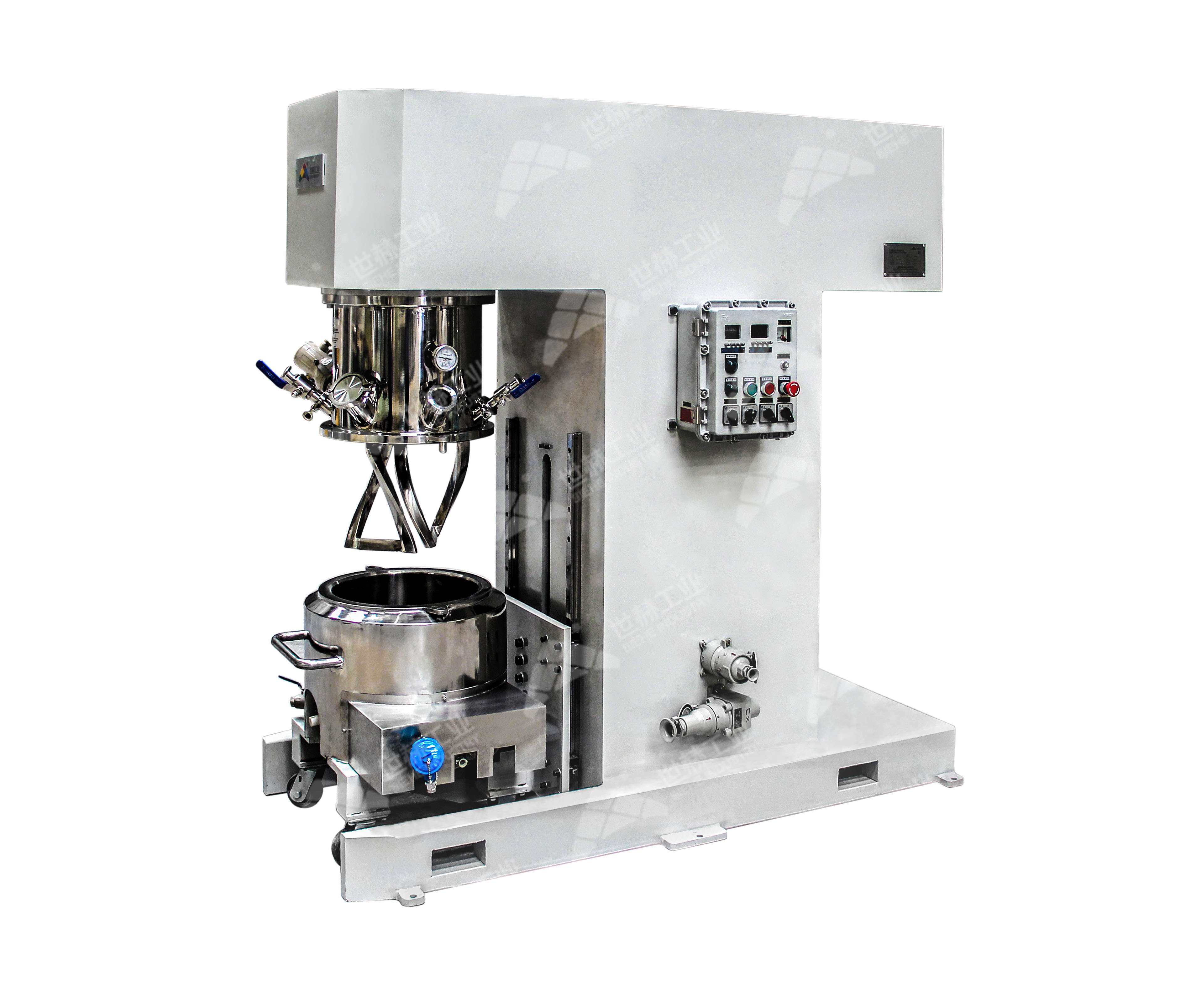 Mid-batch Dual Planetary Mixer