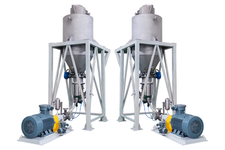 Continuous type Solid-liquid Mixing Emulsifier