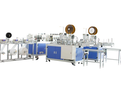  High speed flat ear band mask automatic making machine